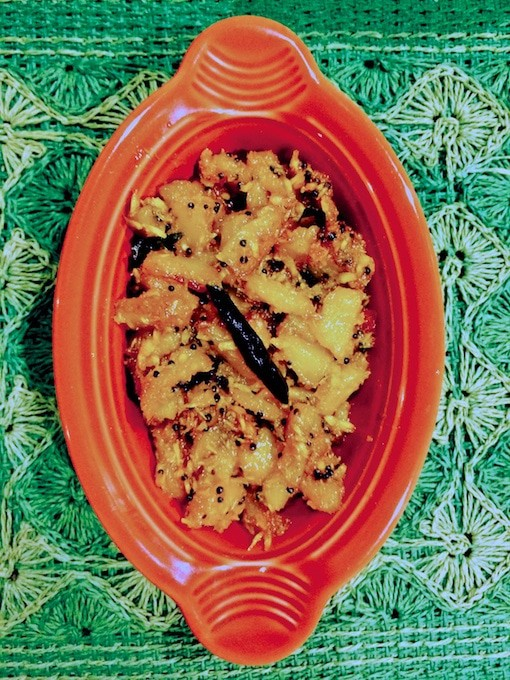 Pineapple Bhaji