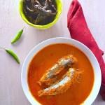 Bhutai Gassi ( Sardines in a Mangalorean gravy)
