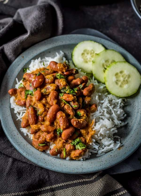 This quick & easy one-pot Punjabi Rajma Masala is super simple to make and loaded with rich and delicious flavors. Rajma has been a family favorite of ours for years, and a regular weekday dinner. After you've made my recipe, I'm sure you'll see why!
