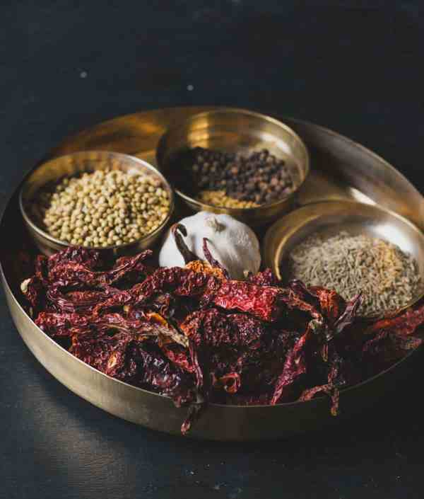Spices used in Kundapur Masala powder or Mangalorean Masala Powder