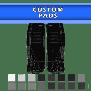 Custom Goalie Pads