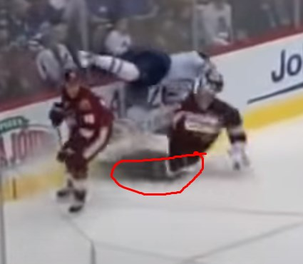 Mike Smith toe tie
