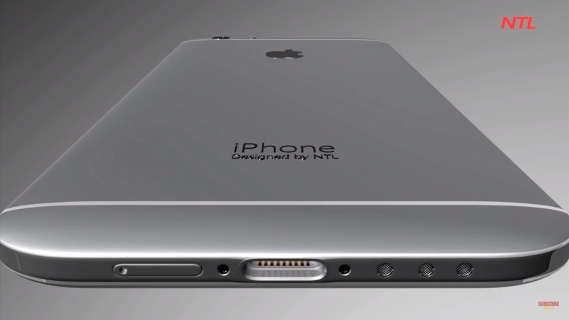 iPhone 7 with Eye Scanner Innovative as