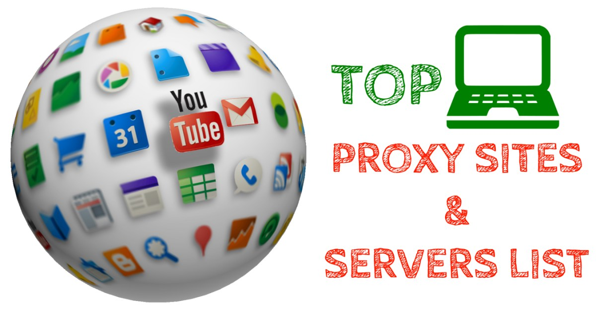Top 100 Free Proxy Sites
