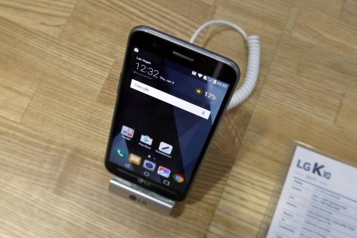 LG K10 2017 Full Specifications, Features and Price