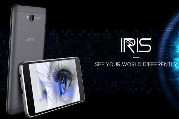 Fero Iris Eye unlock Scanner Dual Sim Android with 4G LTE