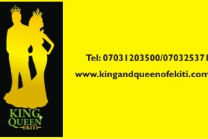 King and Queen of Ekiti