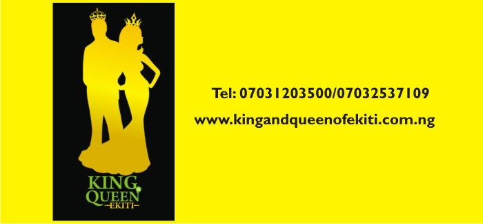 Announcing the New Beauty Pageant: King and Queen of Ekiti