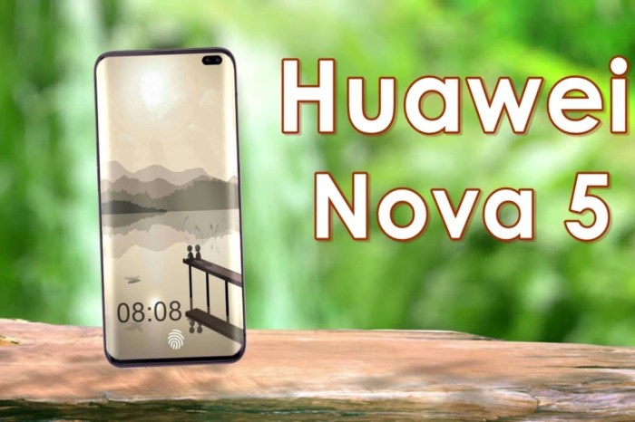 Huawei Nova 5 Review and Specifications with Dual Punch hole camera on the Front