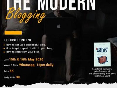 The Modern Blogging