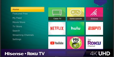 Hisense 50-inch 4K HDR Android TV