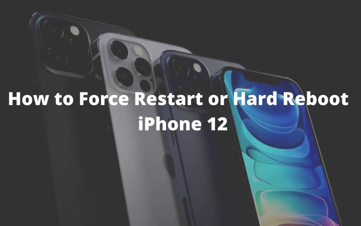 Reset iPhone 12