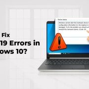 How to Fix Code 10 Errors