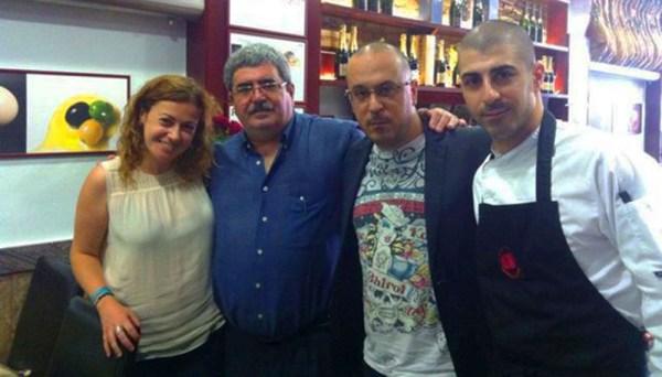 Mónica Castelao, Pepe Simôes, Manuel Simôes y Antonio Simôes. La Taverna del Clínic