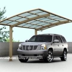 Kanopi Baja Ringan Yang Unik Kaca Transparan Garasi Mobil Dan Tempat Parkir ...