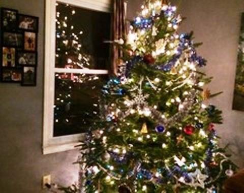 Foto contoh desain dan dekorasi pohon natal 11  SI MOMOT
