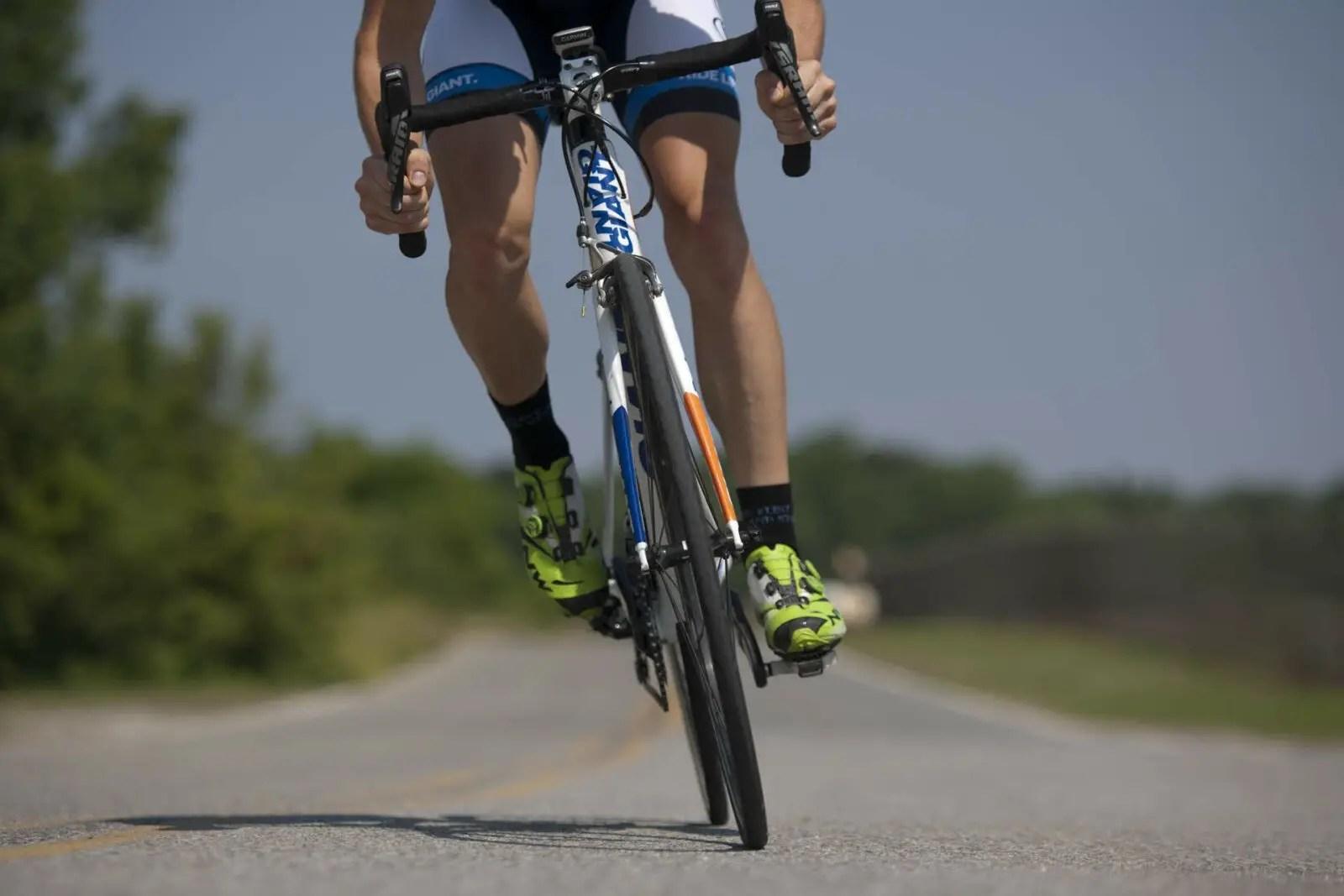 Diät zum Abnehmen mit dem Fahrrad