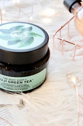 The Body Shop Fuji Green Tea™ Refreshingly Purifying Cleansing Hair Scrub
