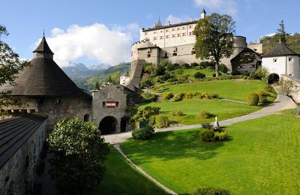 Hohenwerfen Castel din Austria