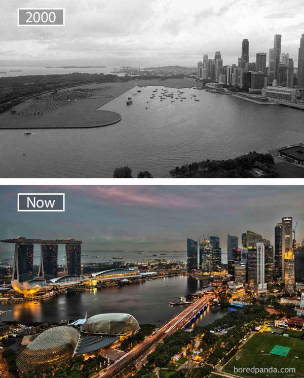 Singapore - Atunci si acum
