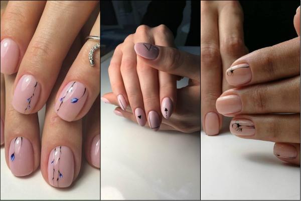 modele de picturi pentru unghii simple