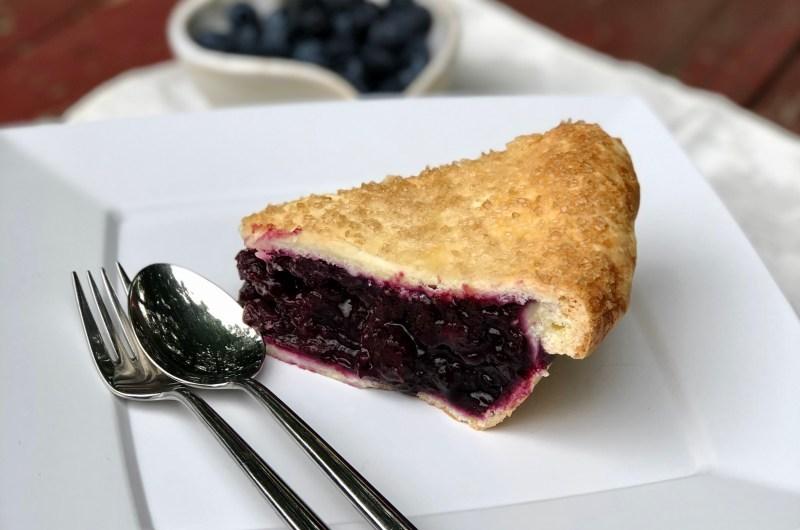 Gluten-free Blueberry Pie