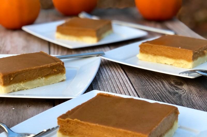 Gluten-free Caramel Pumpkin Bars