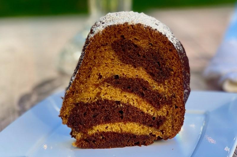 Gluten-free Pumpkin Mocha Bundt Cake