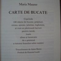 Prima carte de bucate din Tara Romaneasca