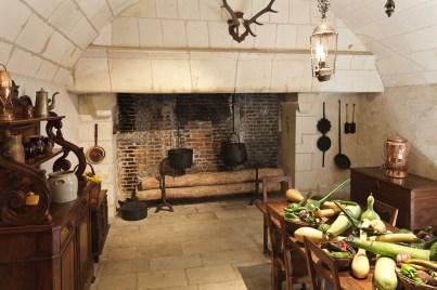Chenonceau - Cuisine du château