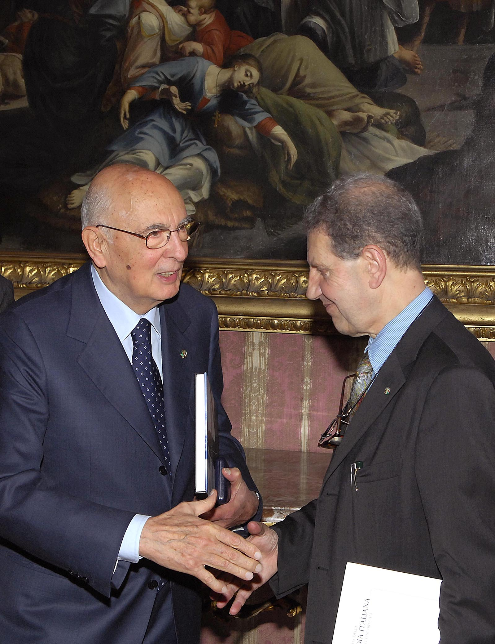 Il presidente Napolitano e il professor Settis