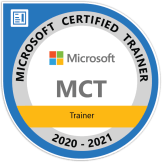 MCT-MicrosoftCertifiedTrainer