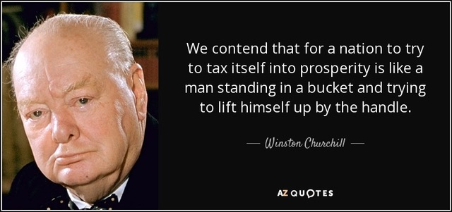 Taxes (Churchill Quote) – Simon Burrow