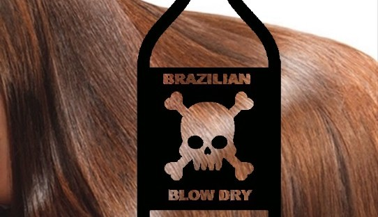 Picture showing the dangers of Formaldehyde in a Brazilian Blow Dry