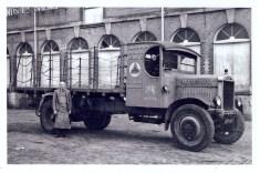 1928 Dray Leyland Q-type in Bridge St. yard