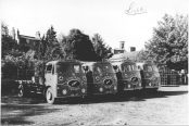 1955 ERF articulated lorry group