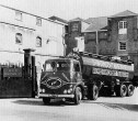 1960's Erf Tanker leaving to Martins Brewery in Belgium with a load of Bulldog Pale Ale