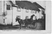 Hurst, The Castle Inn AJ King Proprietor 1906