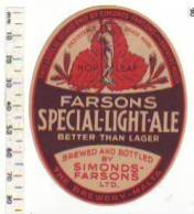 Label Light Ale