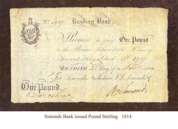 Simonds £ small