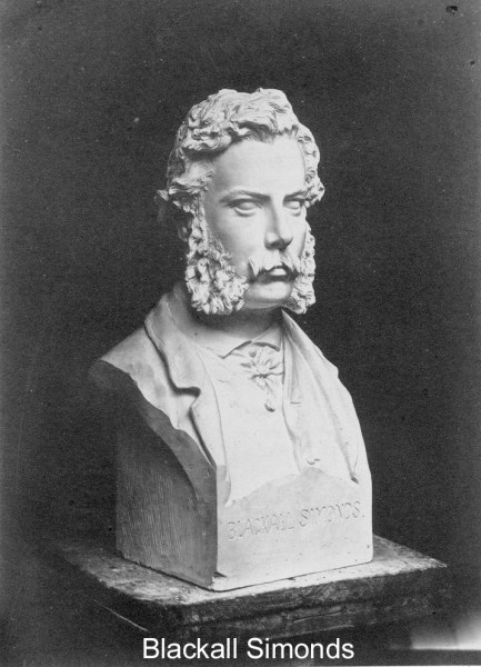 Simonds Blackall Bust