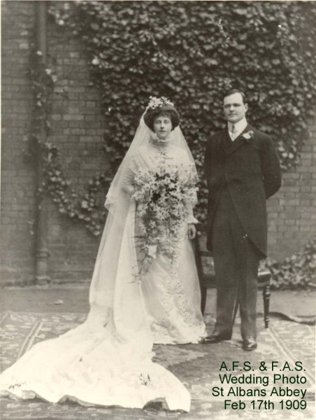 Simonds FA 1909 Wedding