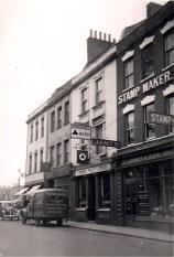 Bath Street, Bath Arms Hotel, demolished 1967.