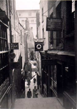 Christmas Steps, Gaiety, recently knocked through into the building next door and re-named the Three Sugar Loaves which was the pub's name prior to 1878.