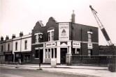 Baptist Mills, Lower Ashley Road, Bridge Inn, demolished in the 1960's.