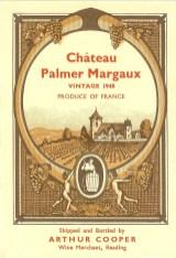 Chateau Palmer Margaux 1948