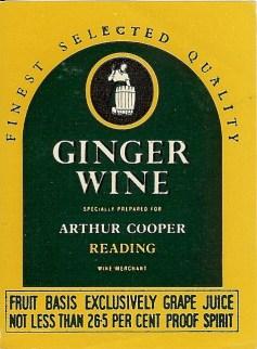 Ginger Wine
