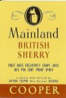 Mainland British Sherry