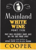 Mainland White Wine [Port Type!]