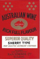 Sherry, Australian
